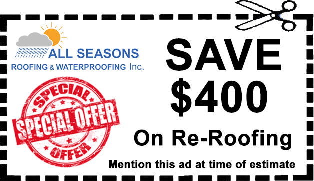 Save $400 On Re-Roofing - San Jose CA