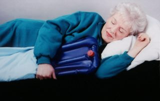hot-cold water bottle to keep your bedroom cooler